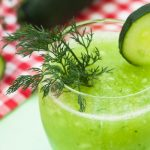 Frisse Komkommershake Met Dille
