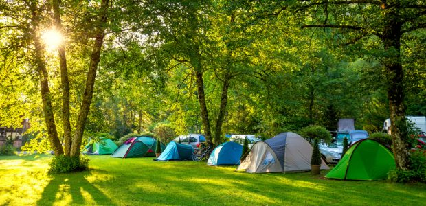 4daagse camping voor tenten tijdens Nijmeegse Vierdaagse